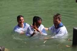Symbolic Baptism in the Jordan