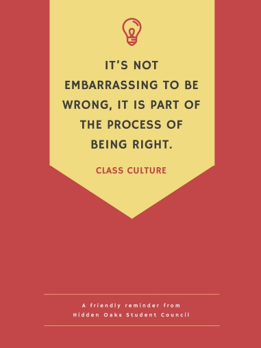 It_s not embarrassing to be wrong, it is part of the process of being right.