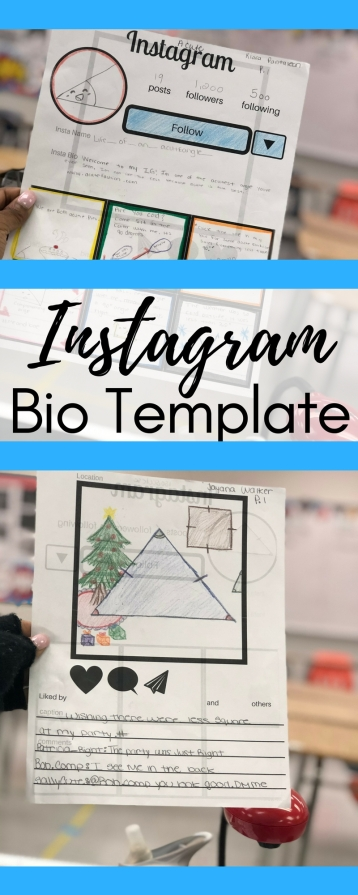 How To Use An Instagram Bio Template In Math Esther Brunat