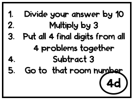 example of what to do with your puzzle answer