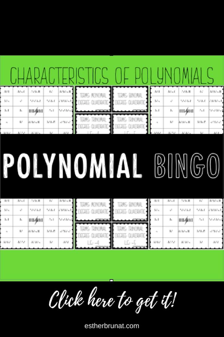 Characteristics of Polynomial Bingo